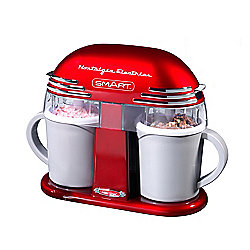 SMART Retro 50s Style Double Ice Cream Maker