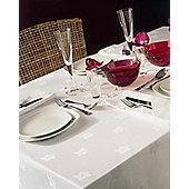 Belledorm Ivy Leaf Rectangular Table Linen - Ivory - 178cm x 274cm