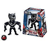 "Metals Die Cast Marvel Civil War: 4"" Black Panther"