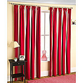Enhanced Living Twilight Red Curtains 168X137cm
