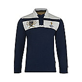 Webb Ellis Cup Aftermatch Rugby Jersey - Blue