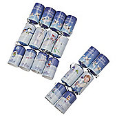 The Snowman Christmas Crackers, 6 Pack