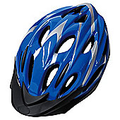 Activequipment Bike Helmet, Blue 58/62cm