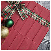 Tesco 5 Sheet Tissue Paper, Red