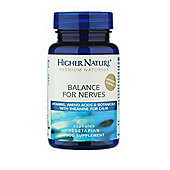 Higher Nature Balance For Nerves 30 Veg Capsules