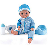 Dolls World Baby Tinkles Doll Blue