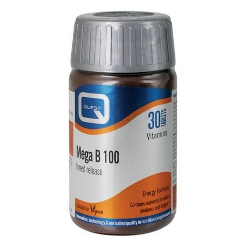 Quest Mega B 100 30 Tablets