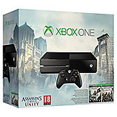 Xbox One Console With Assassins Creed Unity