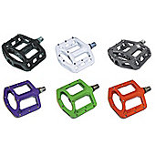 Wellgo MG1 - 9/16 Magnesium Cro-mo Sealed Platform Pedals - Purple