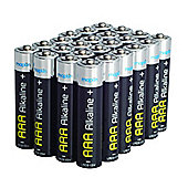 24 AAA Pack Maplin Battery Alkaline Extra Long-Life