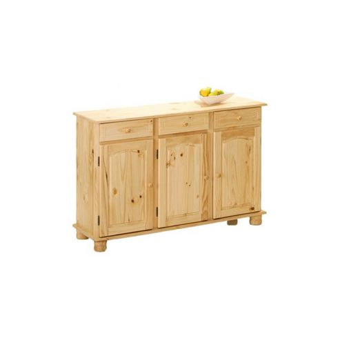 Aspect Design Abaco Solid Pine Sideboard in Natural