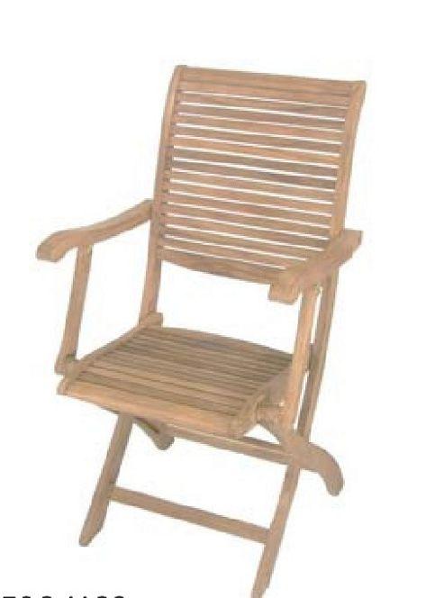 Royal Craft Hamilton Folding Armchair