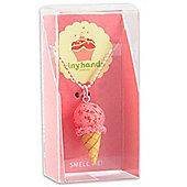 Scented Strawberry Ice Cream Necklace