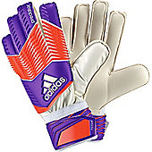 Adidas Predator Replique Junior Goalkeeper Gloves - Purple