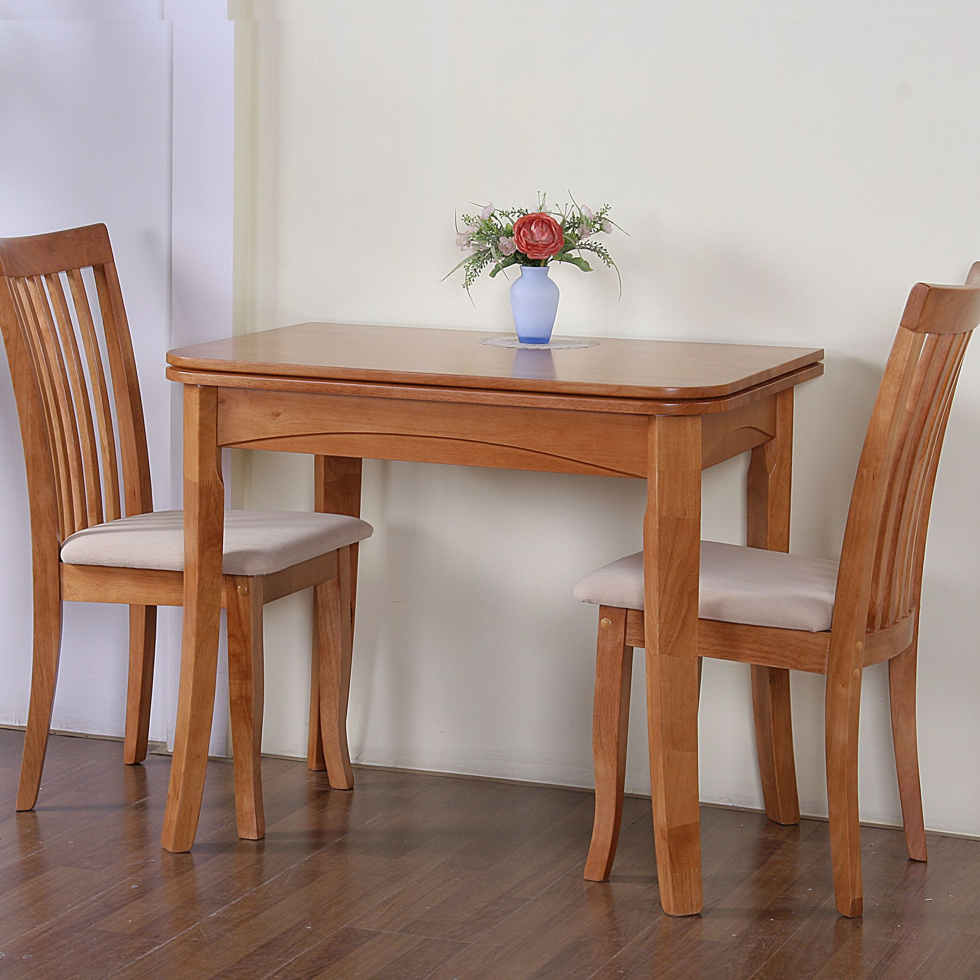 G&P Furniture Windsor House 3-Piece Newark Flip Top Dining Set - Maple at Tescos Direct