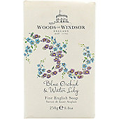 Woods of Windsor Blue Orchid & Water Lily Fine English Soap 250g