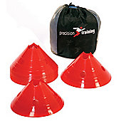 Precision Giant Saucer Cone Set ( 20 Yellow Cones )
