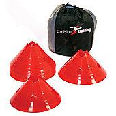 Precision Giant Saucer Cone Set ( 20 Yellow Cones )