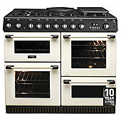 Hotpoint CH10455GFS Cream Colour Dual Fuel Range Cooker - Free-standing