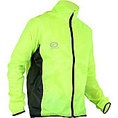Optimum Hawkley Cycle Rain Jacket Mens - Yellow