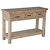 Wiseaction Naples 3 Drawer Console Table