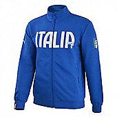 2014-15 Italy Puma FIGC Track Jacket (Blue) - Kids - Blue
