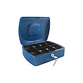 Q Connect 10 inch Cash Box Blue