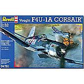 Revell Vought F4U-1A Corsair 1:32 Aircraft Model Kit - 04781