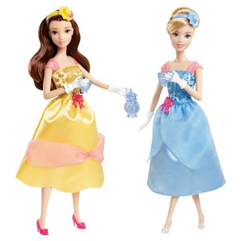 Disney Pincess Teatime Doll Duo