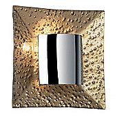 Endon Lighting Wall Light in Modern Gold