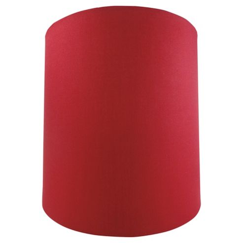 Tesco Lighting Drum Shade 22X22cm, Claret