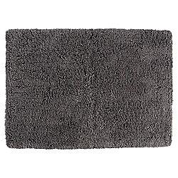 Tesco Luxury Tufted Bath Mat Charcoal Grey