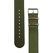 Rec Unisex Green Watch Strap 22-BRG-SAT
