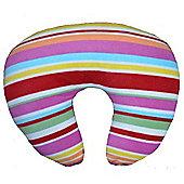 PreciousLittleOne Fleece Nursing Pillow (Candy Stripes)