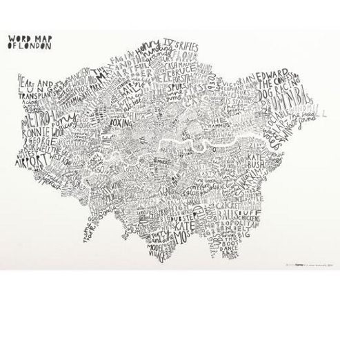 Word Map of London