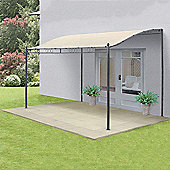 Steel Wall Gazebo (3.5 x 2.5m)