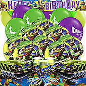 Ninja Turtles Party Pack - Deluxe For 16