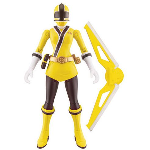 Power Rangers Super Samurai Action Figure - Yellow