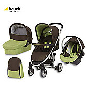 Hauck Malibu All In One Pushchair Coffee/Kiwi
