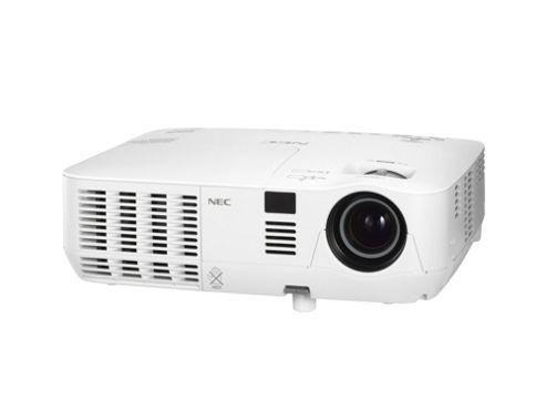 NEC V230X 3D Ready DLP Projector, 1080i, 4:3, NTSC, PAL, SECAM, HDTV, 1024 x 768, XGA, 2000:1, 2300 lm, VGA, 233 W, 3 Year Warranty