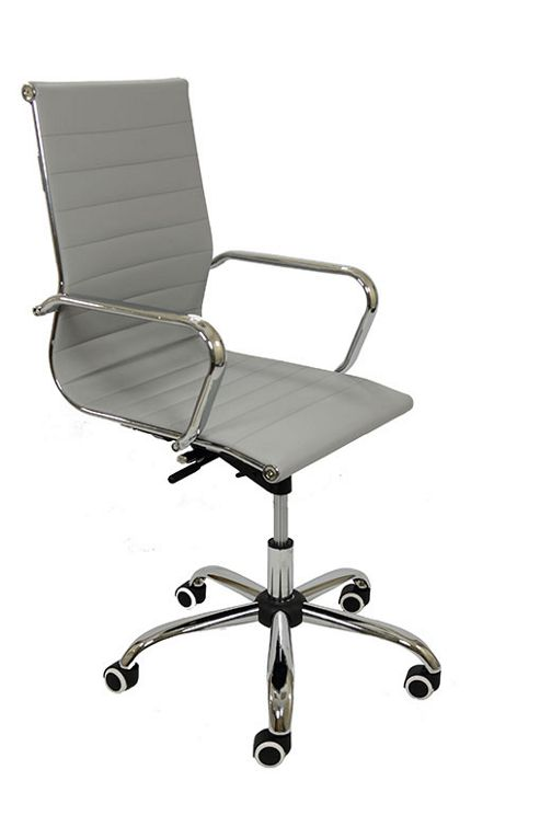 buy eames copy grey office chair from our office chairs. Black Bedroom Furniture Sets. Home Design Ideas