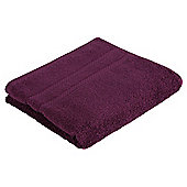 Tesco 100% Combed Cotton Hand Towel Plum