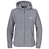 Trespass Ladies Missy Full Zip Fleece Jacket - Grey