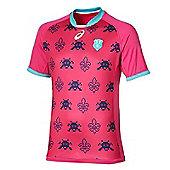 Asics Stade Francais Replica Third Jersey 16/17 - Pink
