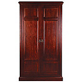 Sweet Dreams Wagner Two Door Wardrobe - Mahogany