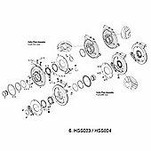 Truvativ Collar Bolts & ISCG Plate 05 for HammerSchmidt Cranks