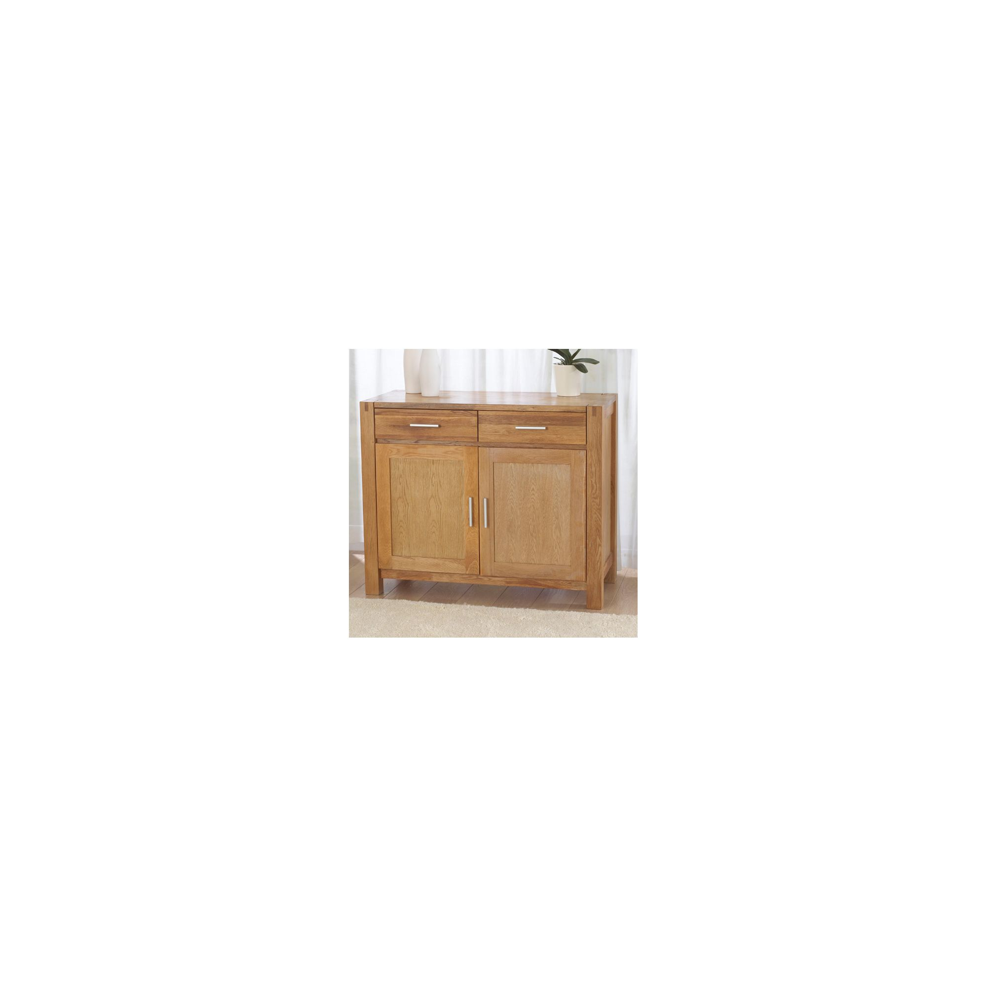 Mark Harris Furniture Verona Oak Sideboard - Medium at Tesco Direct