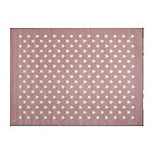 Lorena Canals Estrellitas Pink Children's Rug - 200 cm x 300 cm (6 ft 6 in x 9 ft 10 in)