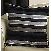 """Fairview Black Cushion Cover - 43cm/17"""""""