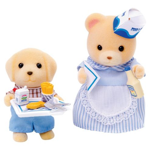Sylvanian Families Francesca The Fish Fryer & Sonny